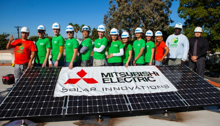 mitsubishi electric solar panels and contractors © Mitsubishi electric solar