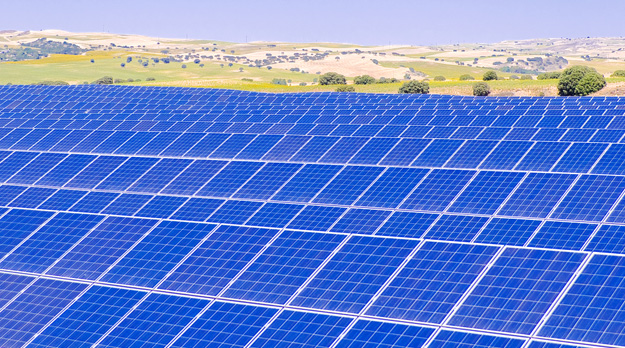 Solar power plant using Yingli solar modules. Image Credit: Yingli Solar