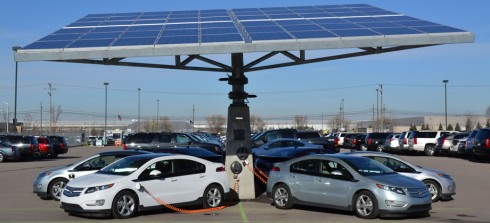 solar-tree-ev-charger