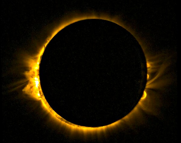 solar eclipse energy grid challenge 20 March 2015 © NASA Goddard Flickr