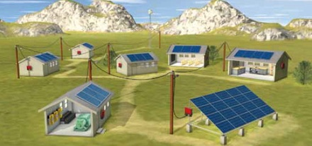 Solar powered mIcro-grid could bring electric power to millions of people in India