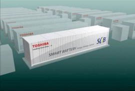 Toshiba grid storage batteries will be used in Ohio