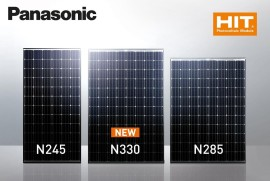 Panasonic solar panel is world's most efficient