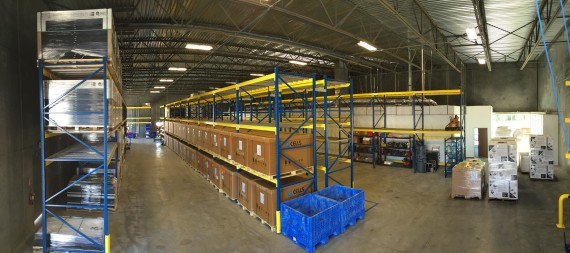 SunRun's new Bakersfield Warehouse