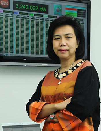Solar power in Thailand