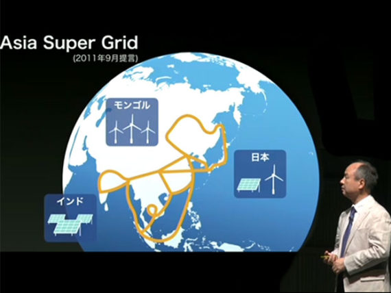 Global renewable energy grid